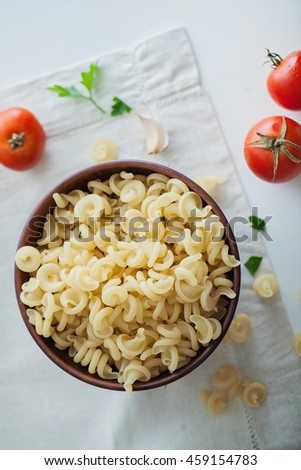 pasta with tomatoes #459154783
