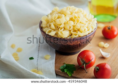 pasta with tomatoes #459346048