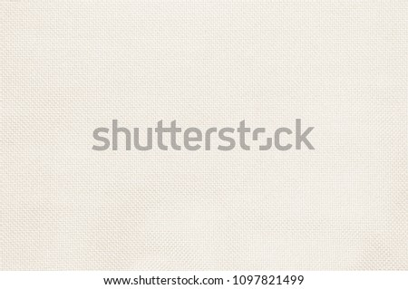 Pastel abstract fabric white texture background. Wallpaper or artistic wale linen canvas. #1097821499