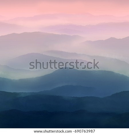 Pastel background sky texture in soft watercolor blue pink.High-resolution seamless texture
