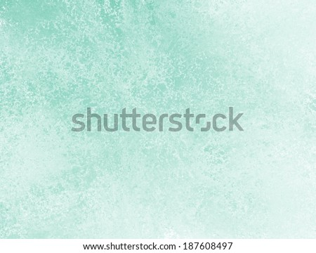 pastel blue green background with white sponge texture