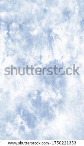 Pastel Blue New Tie Dye Print Seamless - tie dye pattern - tie dye design - seamless tie dye