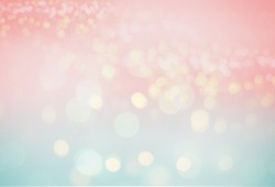 pastel color tone gradient with abstract bokeh light backgrounds
