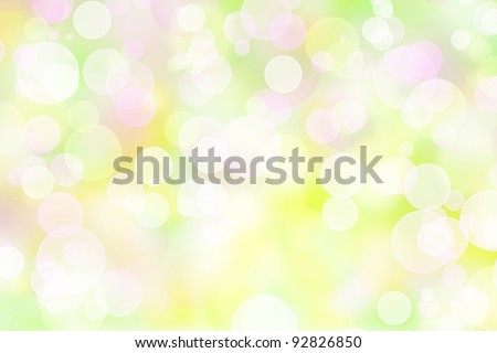 pastel colored bokeh lights effect background