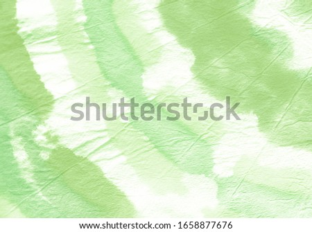Pastel Green Tie Dye Design. Grunge Boho Tie Dye Banner. Pale Green Tie Dyed Drawing Fabric. Chinese Washes Design. Tie Dye Soft Acrylic Artwork Pattern. Watercolour Paint.