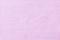 Pastel light purple linen fabric texture background