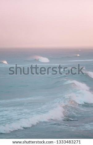 Pastel Ocean Waves