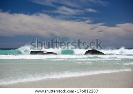 Pastel Seascape Cape Town #176812289