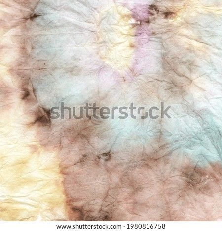 Pastel Tie Dye Swirl. Tiedye Circular Art. Tonal Cool Nautical Artwork. 70s Tie Dye Swirl. Bohemian Ikat Paint. Pastel Apparel Dress Background.  Die Color Vintage. Stock fotó ©