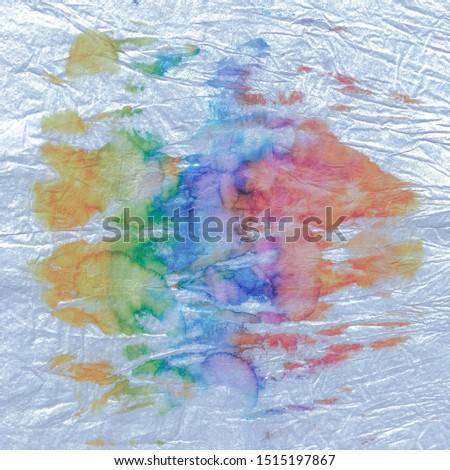 Pastel Vibrant Design .Watercolor Splash Stains. Craft Messy Texture. Hand Drawing Paint. Trendy Fabric Watercolour. Artistic Brush Washes. Pearl Vibrant Design