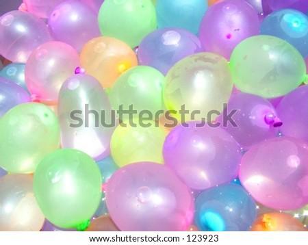 Pastel Water Balloons