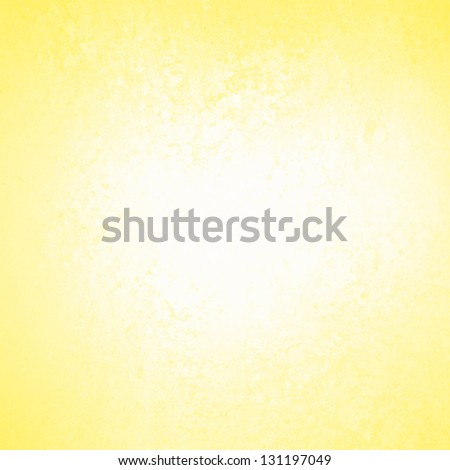 pastel yellow background white abstract design, vintage grunge background texture, distressed rough border frame, abstract bright gold background color splash white center, white paper, brochure ad
