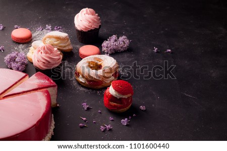 pastries and desserts #1101600440