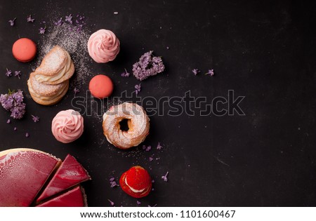 pastries and desserts #1101600467