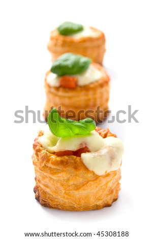 Pastries with cheese