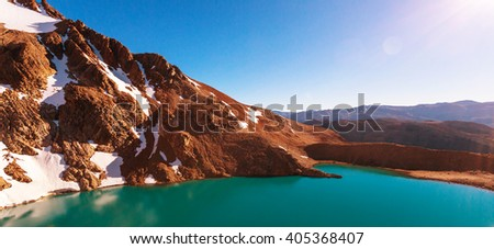 Shutterstock Patagonia landscapes in Southern Argentina