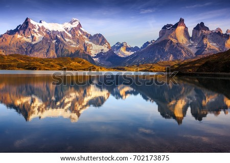 patagonia, nature, moutains