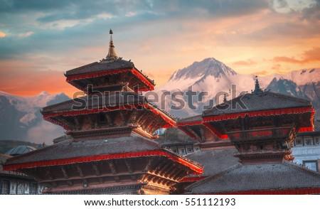 Patan .Ancient city in Kathmandu Valley. Nepal Photo stock ©