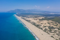 Patara Beach is a beach located near the ancient Lycian city of Patara in Turkey, on the coast of the Turkish Riviera.