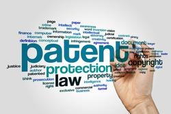 Patent word cloud