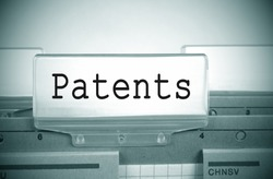 Patents Folder Register Index with spotlight