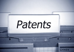 Patents Register Folder Index in the Office