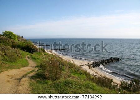 path along the coast of Bornholm