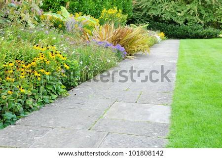 Path through a Tranquil Garden