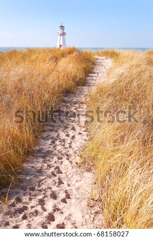 Path to lighthouse