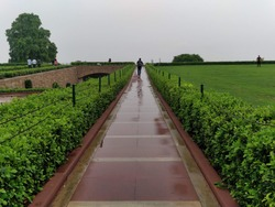 Pathway in Rajghat
