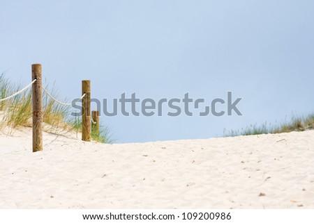 Pathway on Czolpinska Dune, Baltic