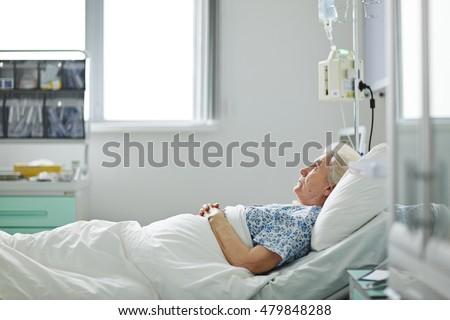 Patient in ward