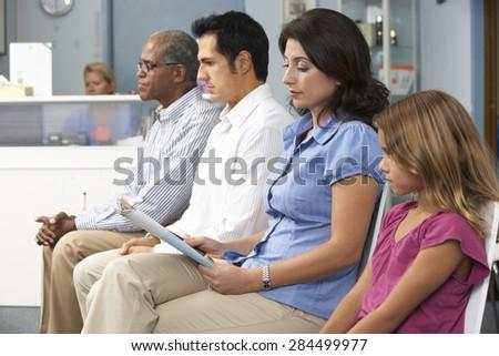 Patients In Doctors Waiting Room #284499977