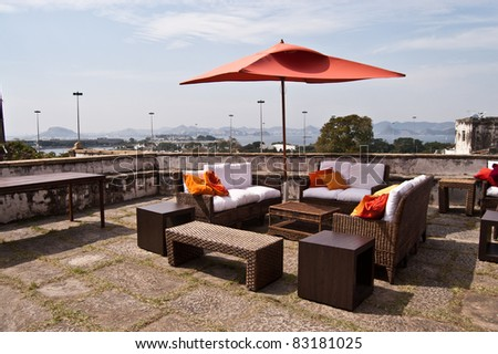 patio in open air