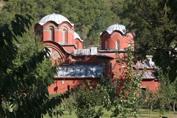 Patriarchal Monastery of Peć, is a medieval Serbian Orthodox monastery located near the city of Peć or Peja, in Kosovo.