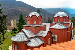 Patriarchate of Pec (Peja), Kosovo (UNESCO world heritage site)