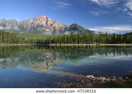 Patricia Lake in Jassper National Park