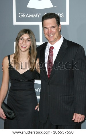 Patrick Warburton And His Daughter At The 51st Annual ...
