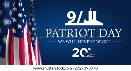 Patriot Day 9 11 USA Background Illustration