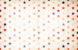 Patriotic Background - Stars