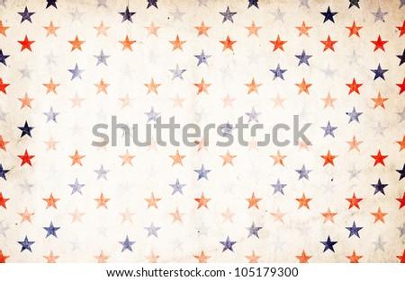 Patriotic Background - Stars