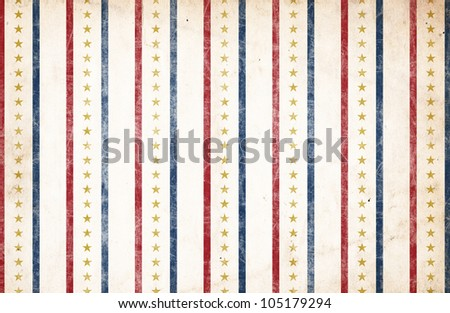 Patriotic Background - Stars & Stripes