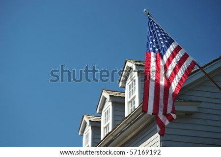 Patriotic house in St. Augustin