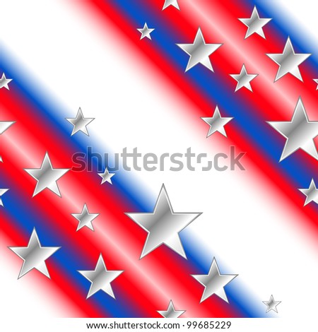 Patriotic 4th of july background.