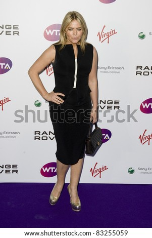 Patsy Kensit arriving for The WTA Pre Wimbledon Party, Rooftop Gardens, Kensington London. 16/06/2011  Picture by: Simon Burchell / Featureflash