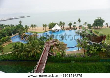 pattaya resort view #1101219275