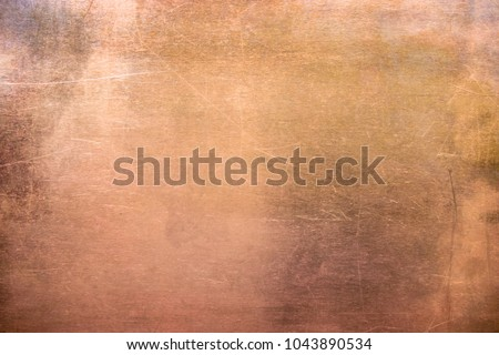 pattern copper or bronze, non-ferrous metal texture #1043890534