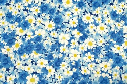 pattern flower on cloth fabric  for business