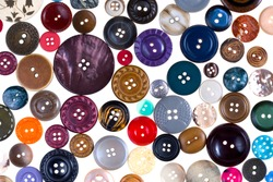 pattern from many different buttons