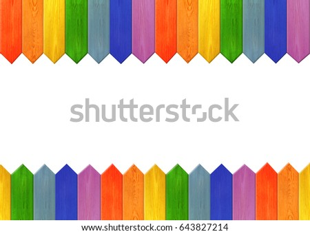 pattern from multicolored sharp boards like a rainbow. Background from strips of different colors #643827214